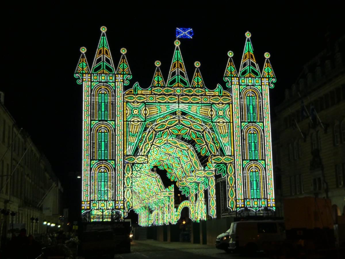 Street of Light, George Street, Edinburgh