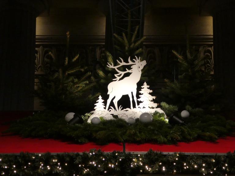 Edinburgh Christmas decorations