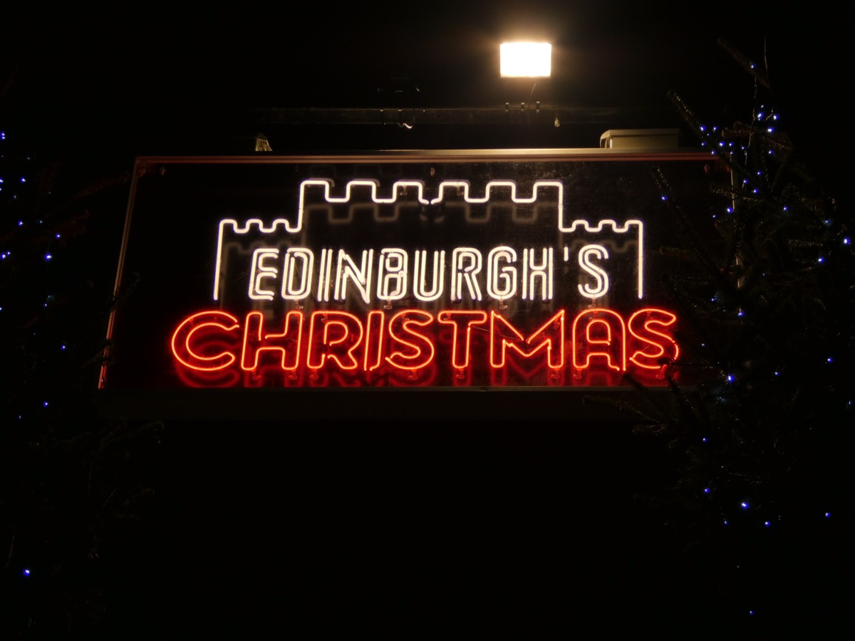 Edinburgh Christmas Lights