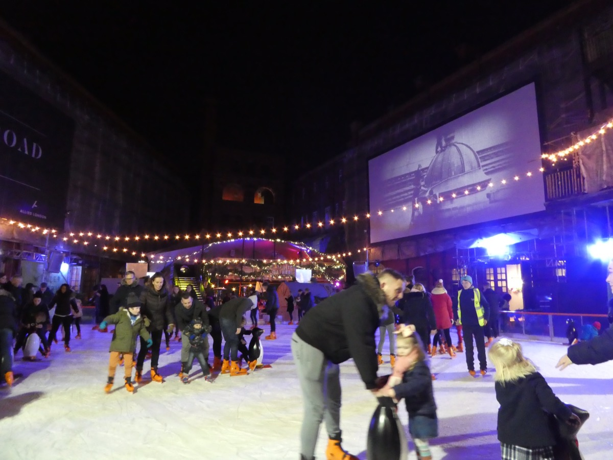 Manchester Christmas Ice Rink