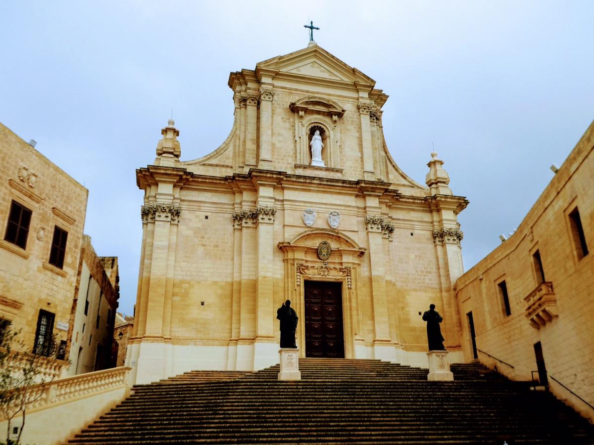 Baroque Roman Cathedral, The Citadel, Gozo