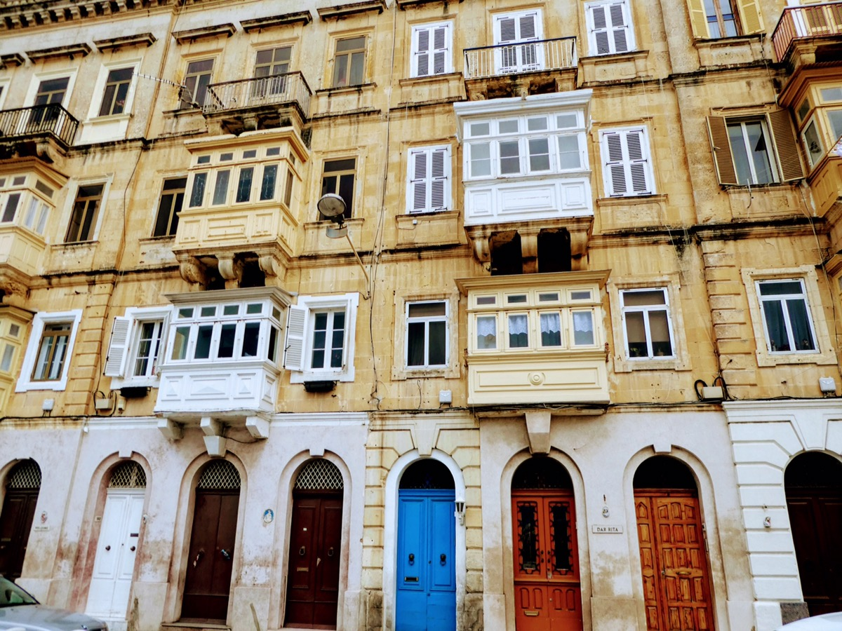 Typical Maltese architecture