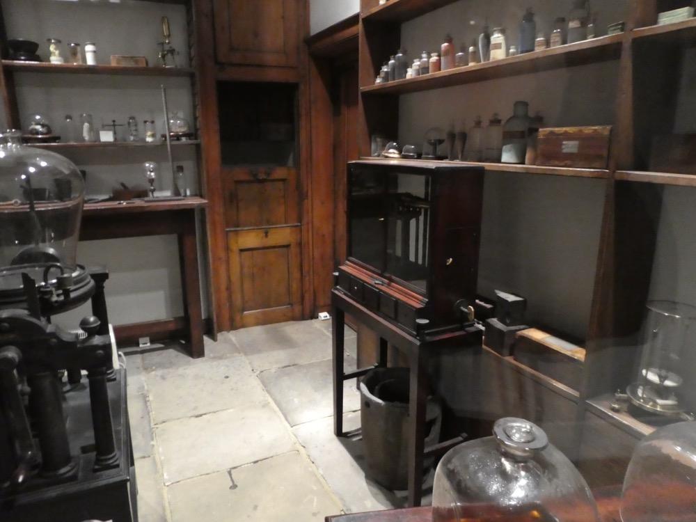 Faraday's Magnetic Laboratory, RI.