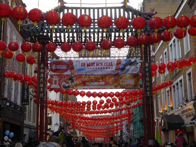Chinese Lanterns, Chinatown, London
