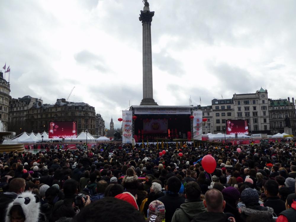 Chinese New Year Celebrations, Trafalgar Square