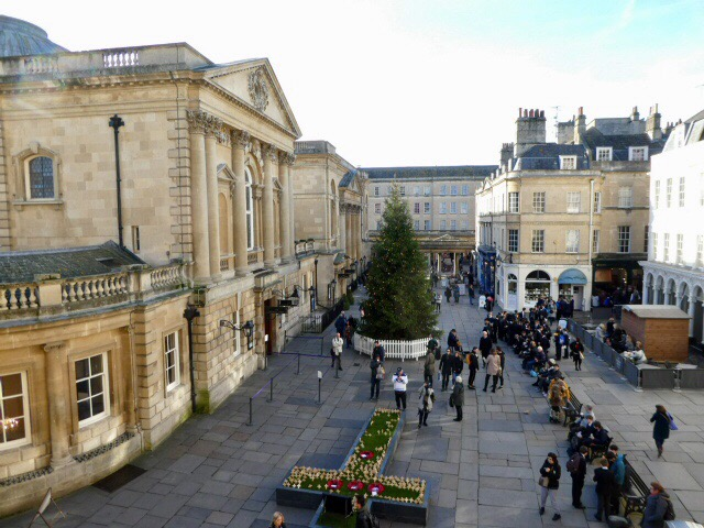 Christmas in Abbey Square, Bath