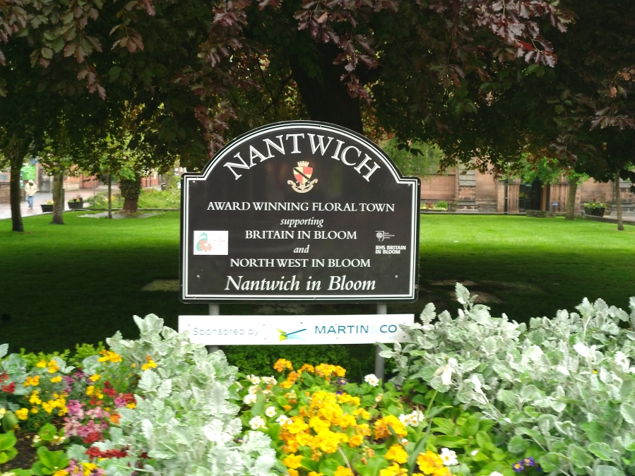 Nantwich Town Sign