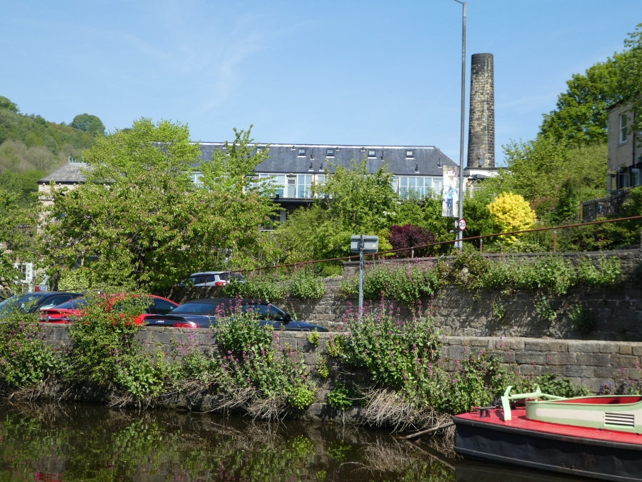 Croft Mill Aparthotel, Hebden Bridge beside the canal