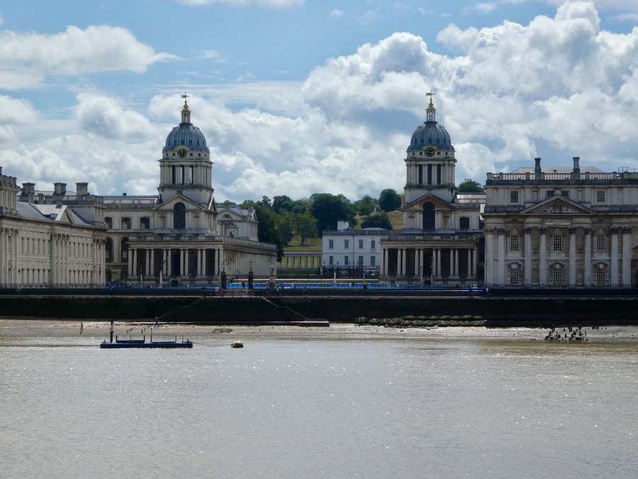 Greenwich Old Royal Naval College across the River Thames