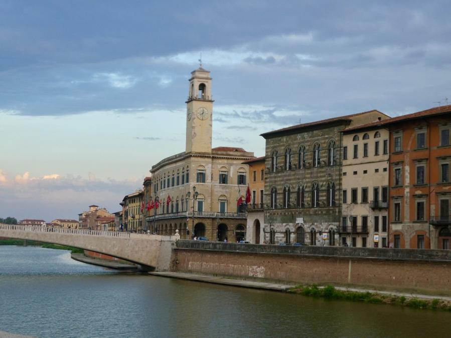 Pisa riverside