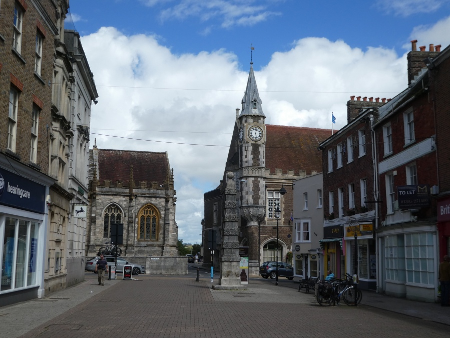 Dorchester town centre