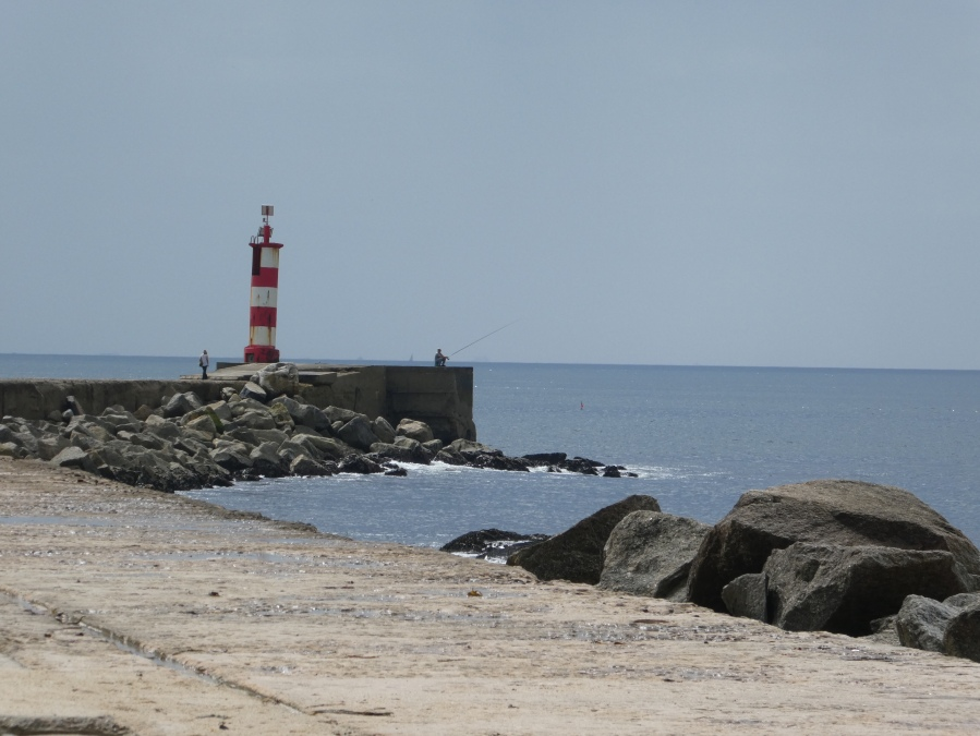 Lighthouse in Vila do Conde