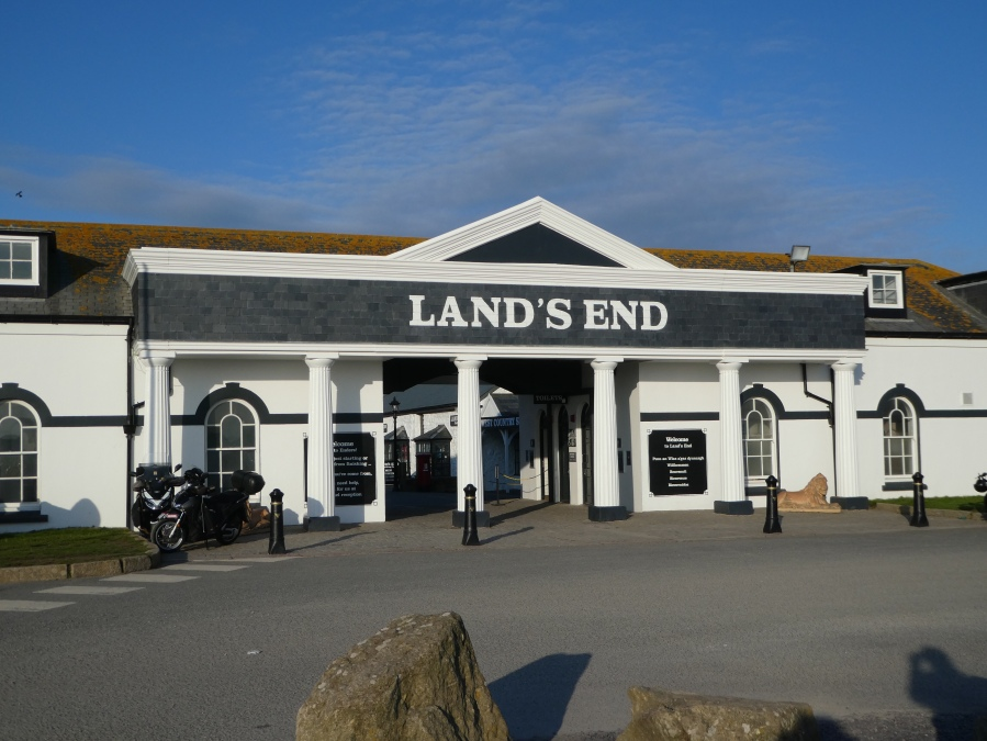 The entrance to Land's End, ,Cornwall