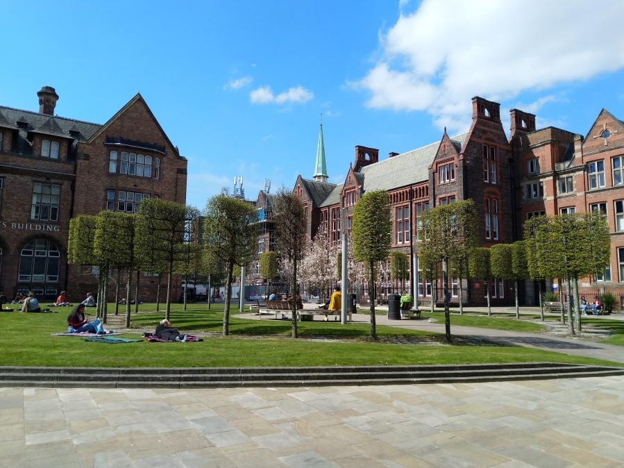 Jubilee Quad, University of Liverpool