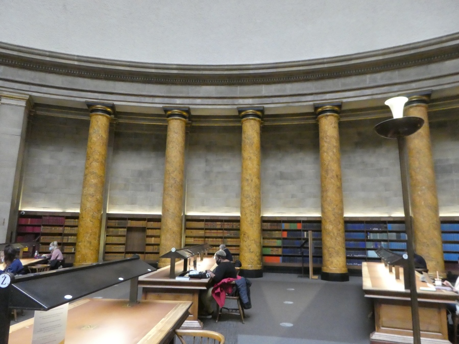 Wolfson Reading Room Manchester Central Library