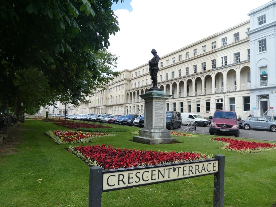 The Long Gardens, Cheltenham