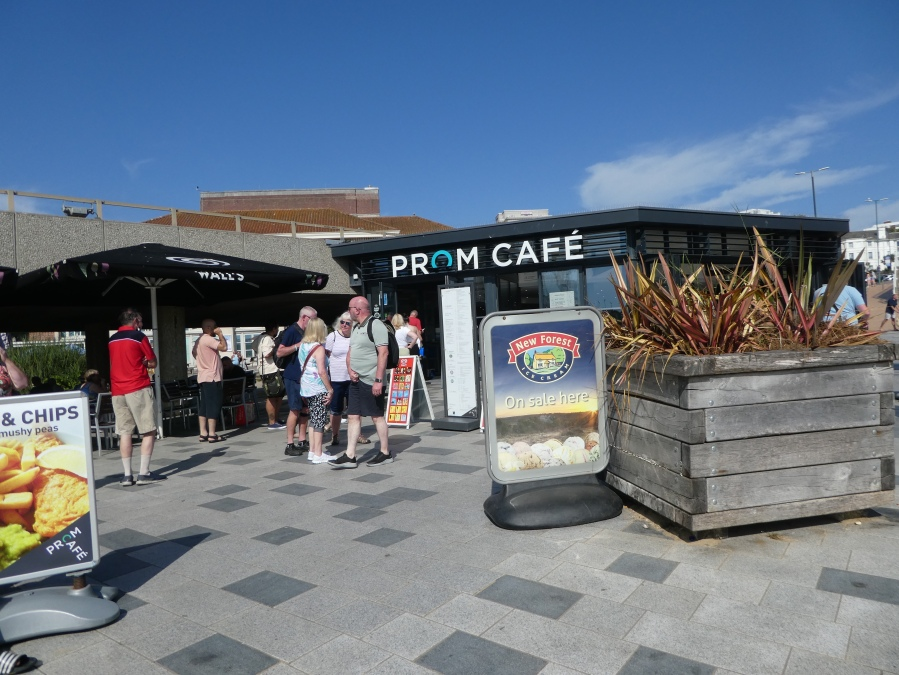 Prom Cafe at Pier Approach, Bournemouth